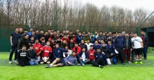 British Muslim Youth play football for peace