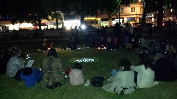 Prayer Vigil in Ramadan