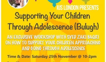 Supporting Your Children Through Adolescence (Bulugh)