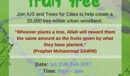 Plant a fruit tree – Marnham Fields, Ealing