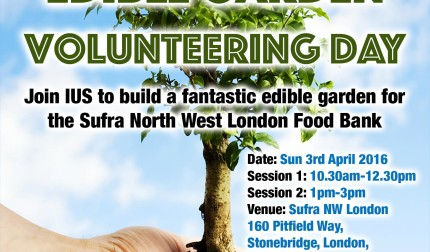 Edible Garden Volunteering Day