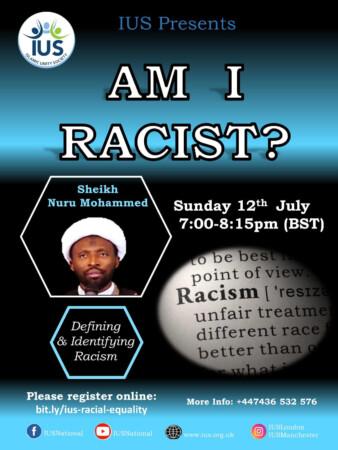 Am I Racist? Part 1