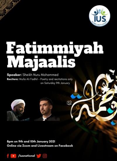 Fatimmiyah Majaalis 2021