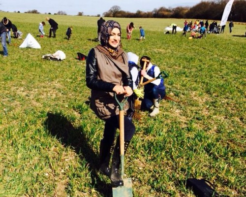 Tree Planting – March 2014