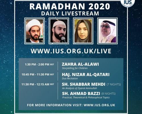 Ramadhan 2020 Daily Live Stream