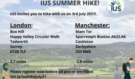 IUS Summer Hike