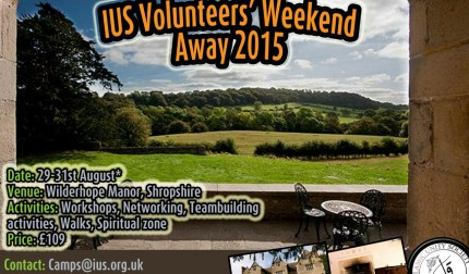 IUS Volunteers' Weekend Away 2015