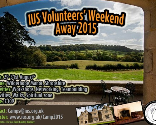 IUS Volunteers Weekend Away 2015