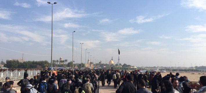 Part 1: Reflections From Iraq: In the footsteps of the Imam