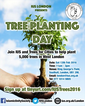 Tree Planting Day – King George's field