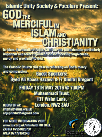 God the Merciful, in Islam and Christianity