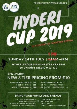Hyderi Cup 2019