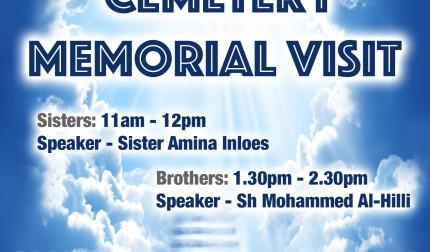 Mulla Asghar Memorial & Cemetery Visit