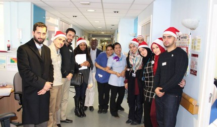 Visiting the Elderly Ward at Northwick Park Hospital