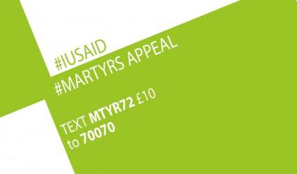 #IUSAid #MartyrsAppeal