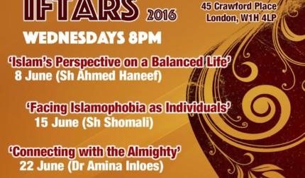Annual Iftar 2016