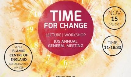 Time for Change – Motivational workshop & IUS AGM 2014