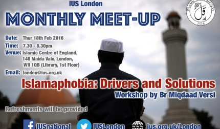 IUS London Monthly Meet-Up